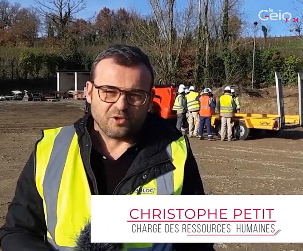 Interview de Christophe ! Chargé des ressources humaine du GEIQ24.